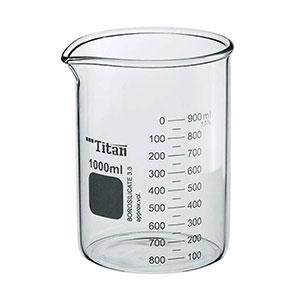 vaso de precipitado de cristal 1000ml