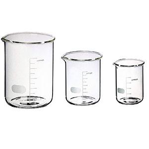 vaso laboratorio cristal