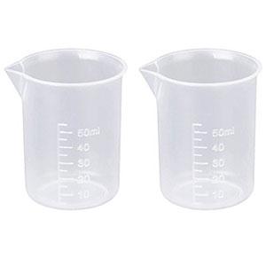 vaso de precipitado de plástico